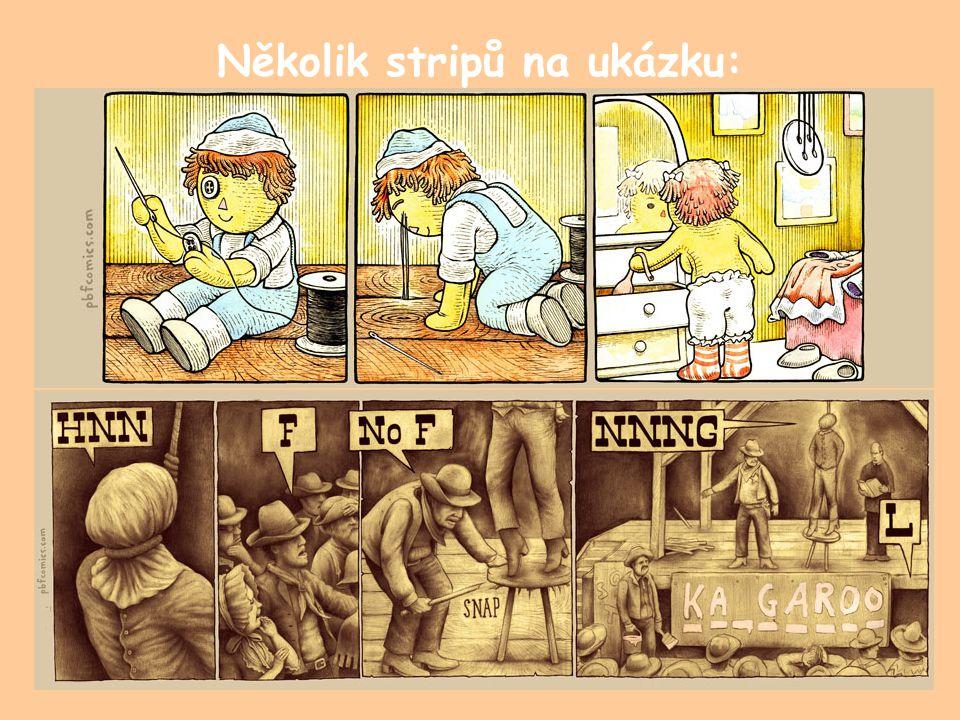 Několik stripů na ukázku:
