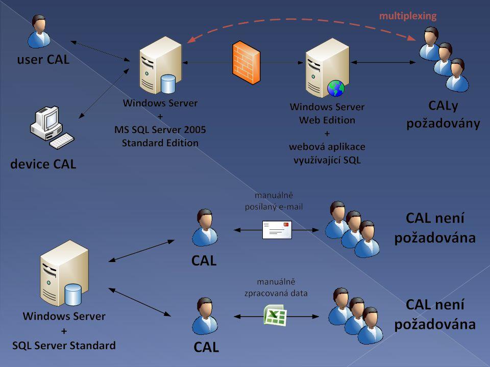  Server  Instance  Běžící instance  Přidělení licence (assign license)  OSE (Operating System Environment)  Physical and Virtual Processors