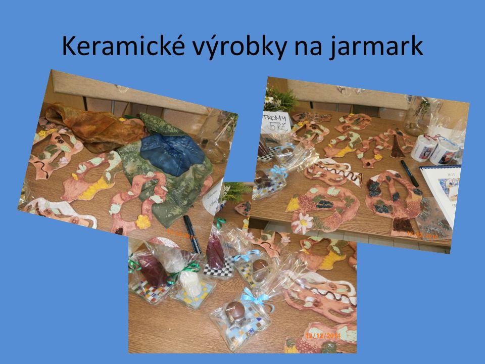 Keramické výrobky na jarmark