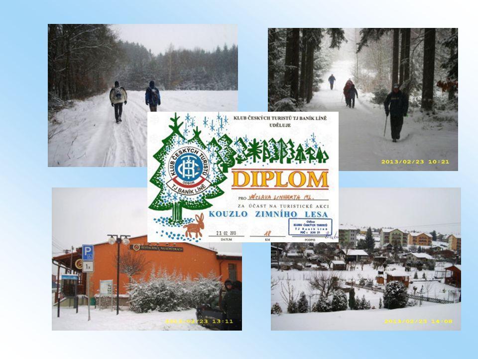 23.2. - Ve třech zvládli Kouzlo zimního lesa a ušli z Plešnic do Plzně18 km