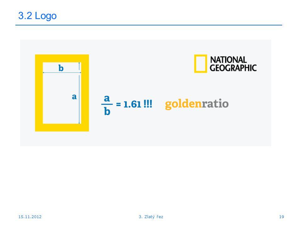 15.11.2012 3.2 Logo 193. Zlatý řez