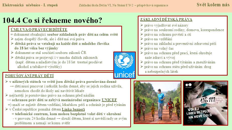 PORUŠOVÁNÍ PRÁV DĚTÍ  v některých státech ve světě jsou dětská práva porušována denně → děti musí pracovat i několik hodin denně, aby se jejich rodin