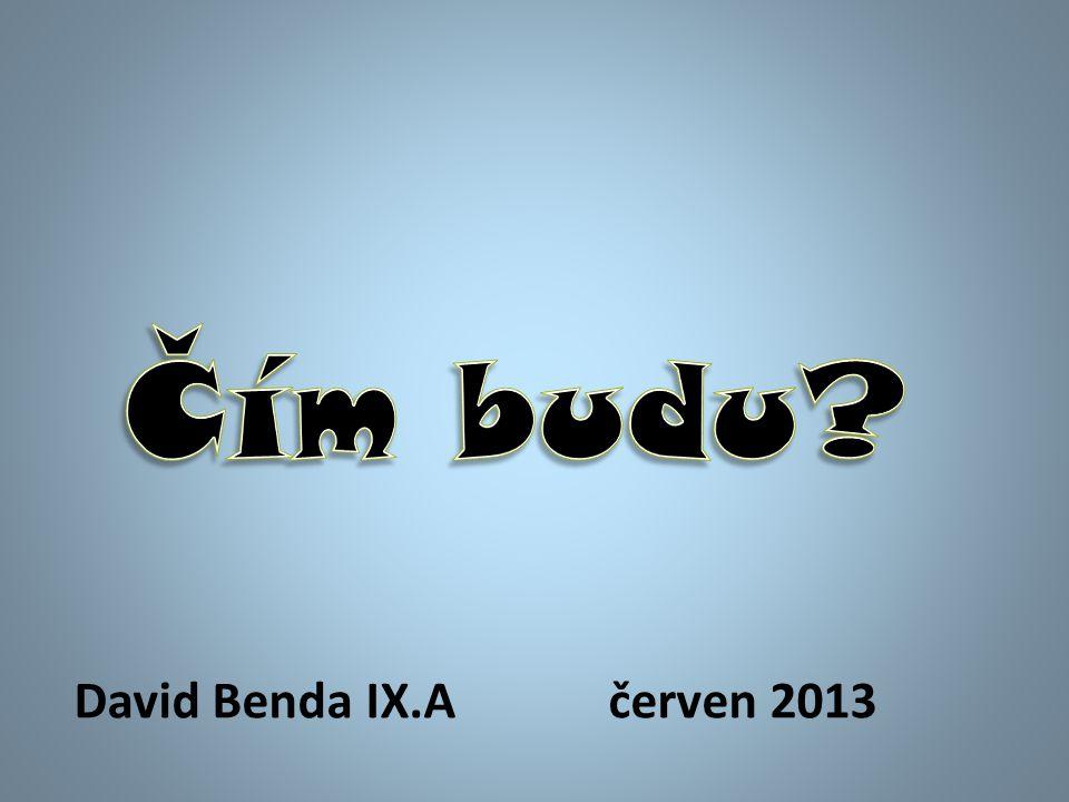 David Benda IX.Ačerven 2013