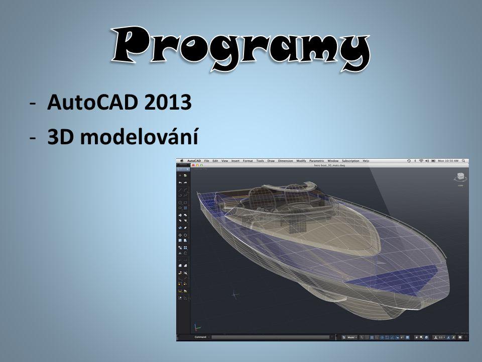 -AutoCAD 2013 -3D modelování