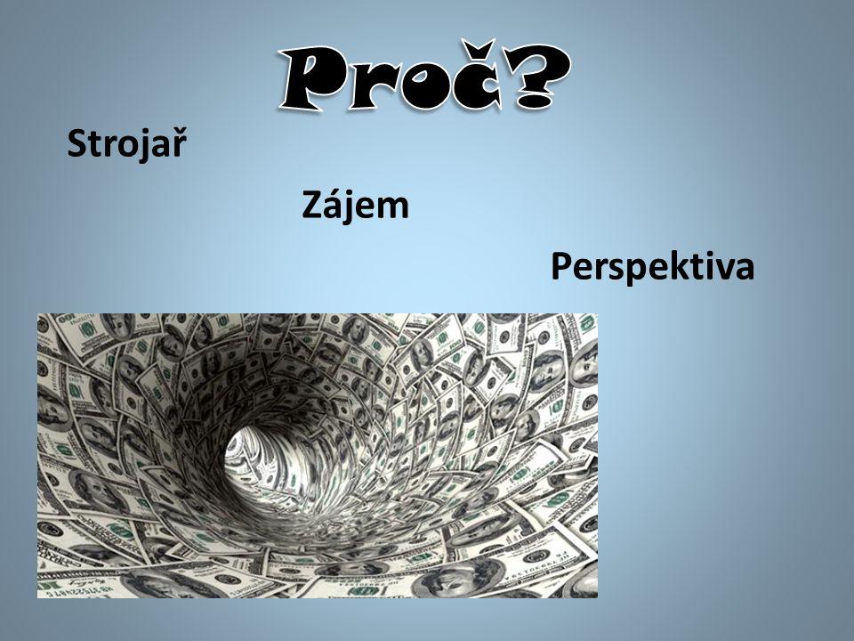 Strojař Zájem Perspektiva