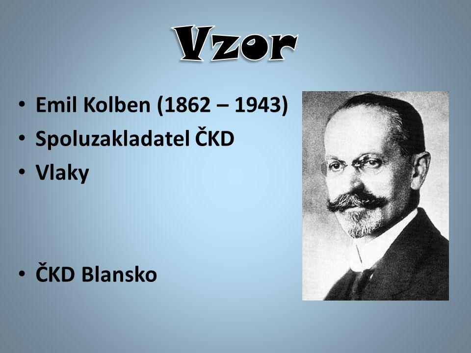 Emil Kolben (1862 – 1943) Spoluzakladatel ČKD Vlaky ČKD Blansko