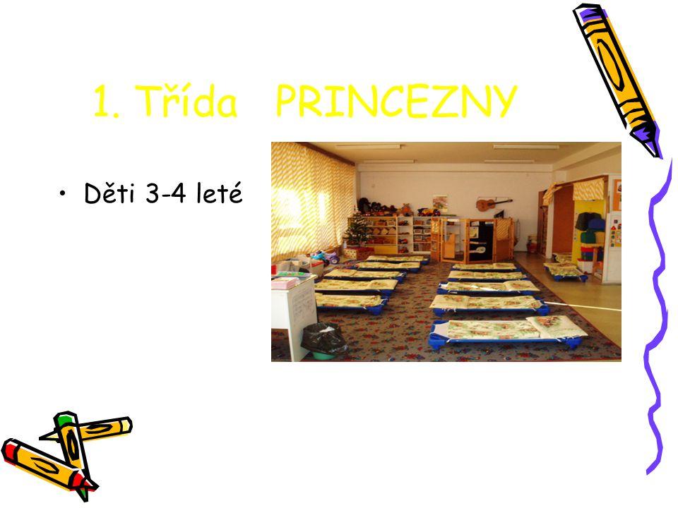 1. Třída PRINCEZNY Děti 3-4 leté
