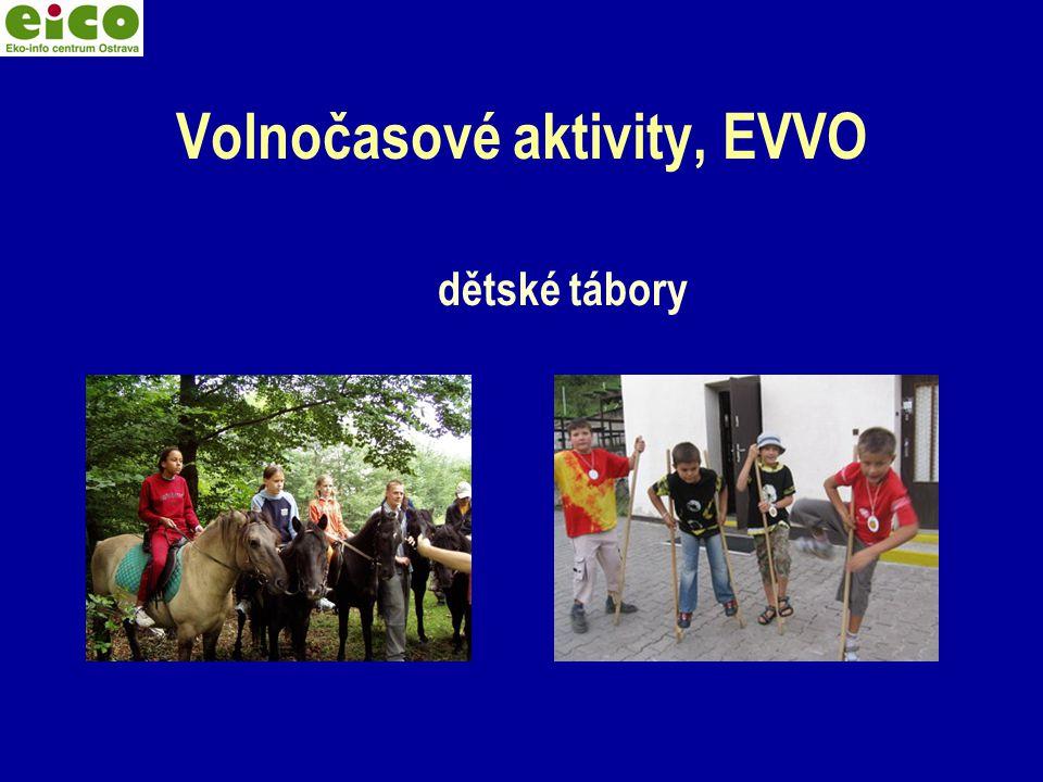 Volnočasové aktivity, EVVO dětské tábory