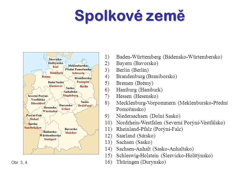 P ř írodní podmínky Následující pojmy se vztahují k přírodním útvarům v Německu.