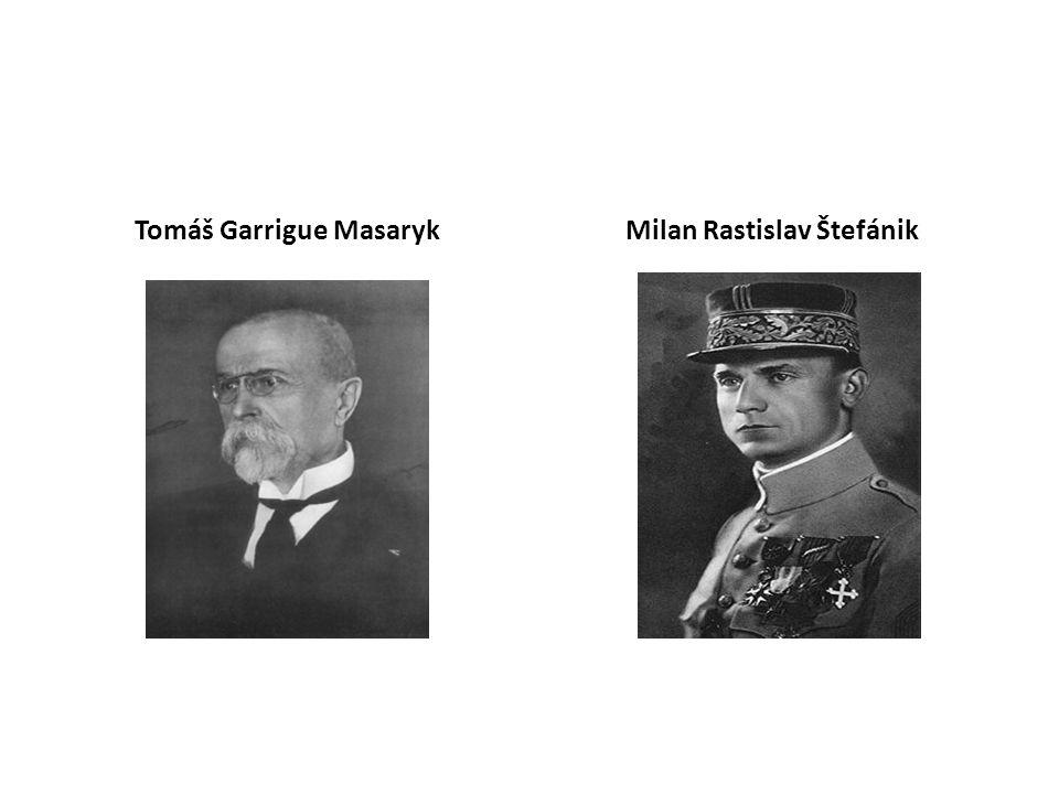 Tomáš Garrigue MasarykMilan Rastislav Štefánik