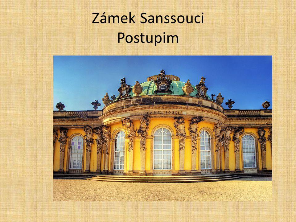 Zámek Sanssouci Postupim