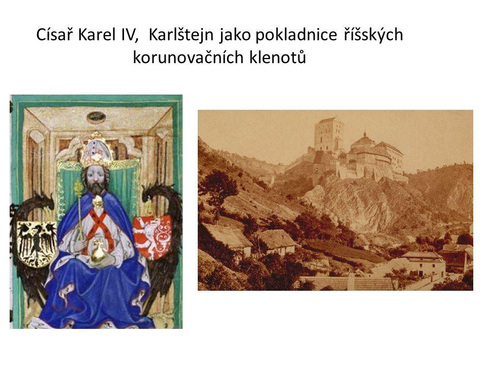 Císař Karel IV, Karlštejn jako pokladnice říšských korunovačních klenotů