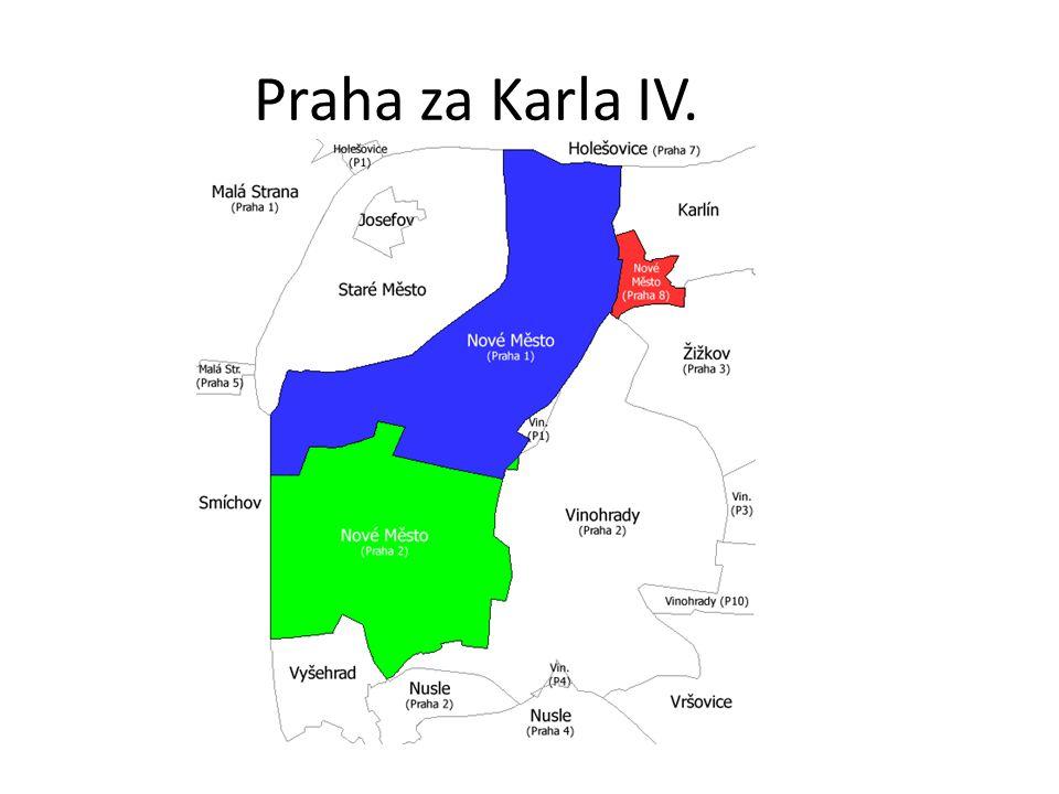 Praha za Karla IV.