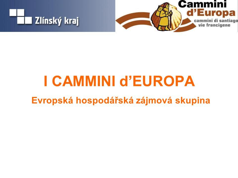 I CAMMINI d'EUROPA Evropská hospodářská zájmová skupina