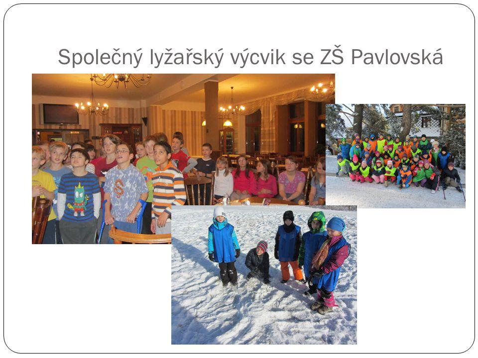 Společný lyžařský výcvik se ZŠ Pavlovská