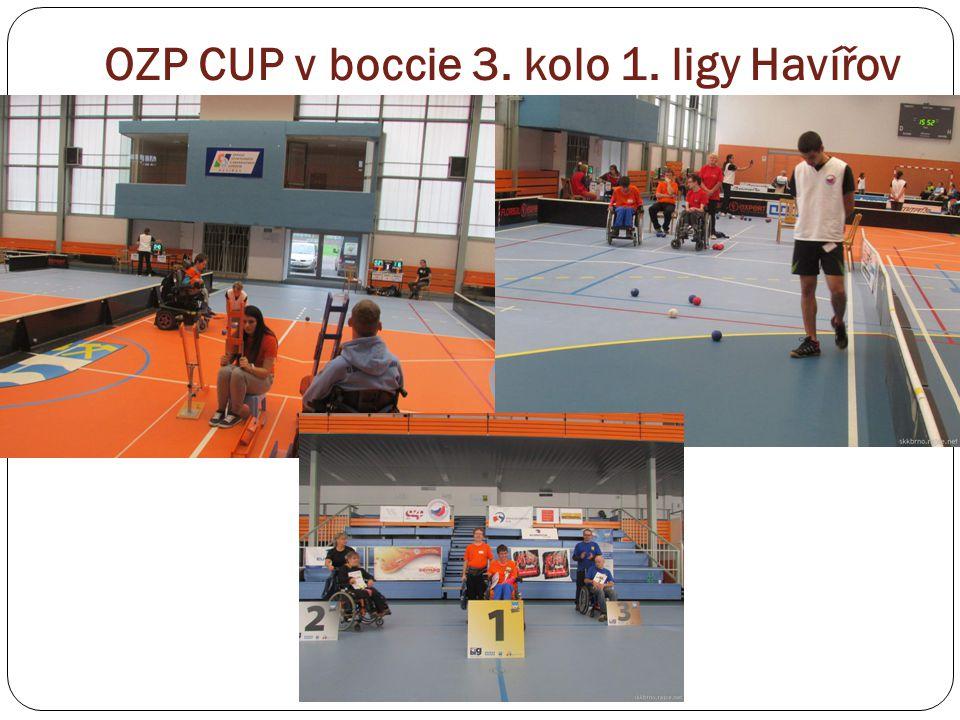 OZP CUP v boccie 3. kolo 1. ligy Havířov