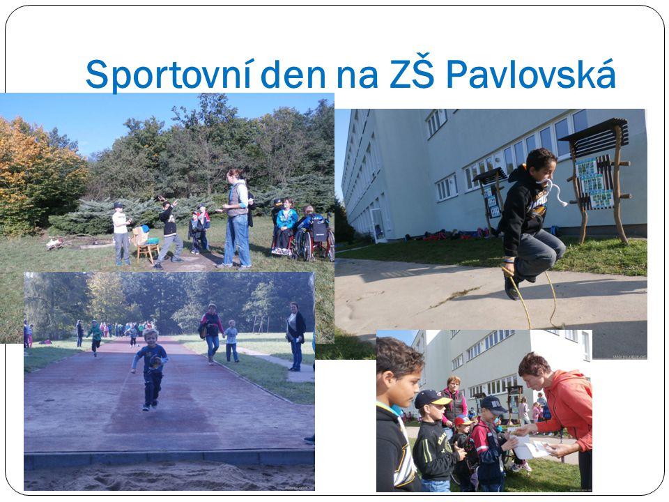 Sportovní den na ZŠ Pavlovská
