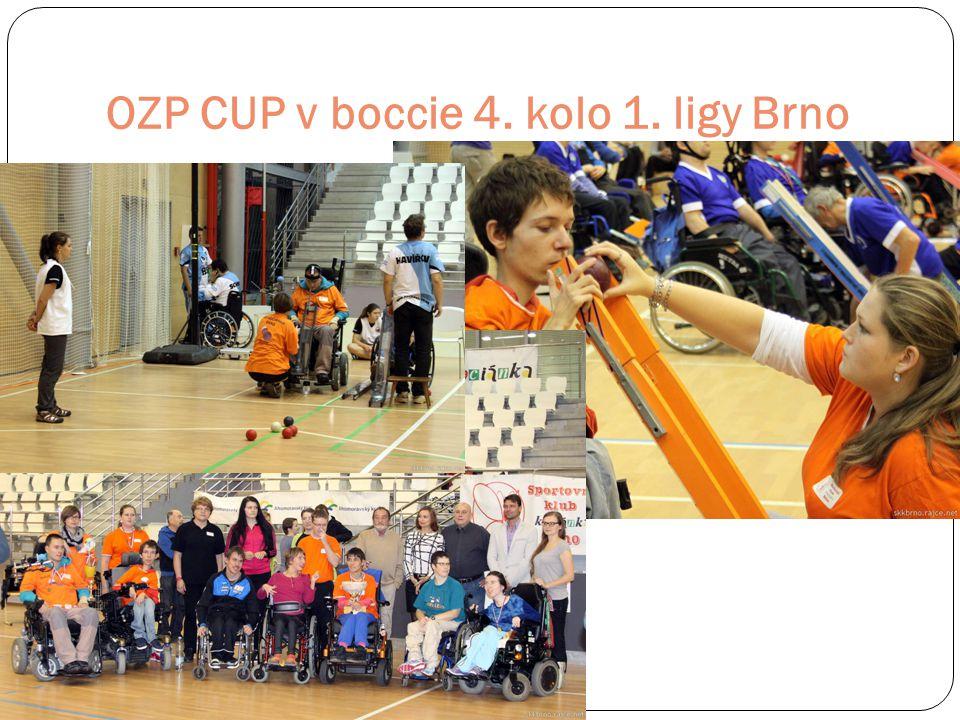 OZP CUP v boccie 4. kolo 1. ligy Brno