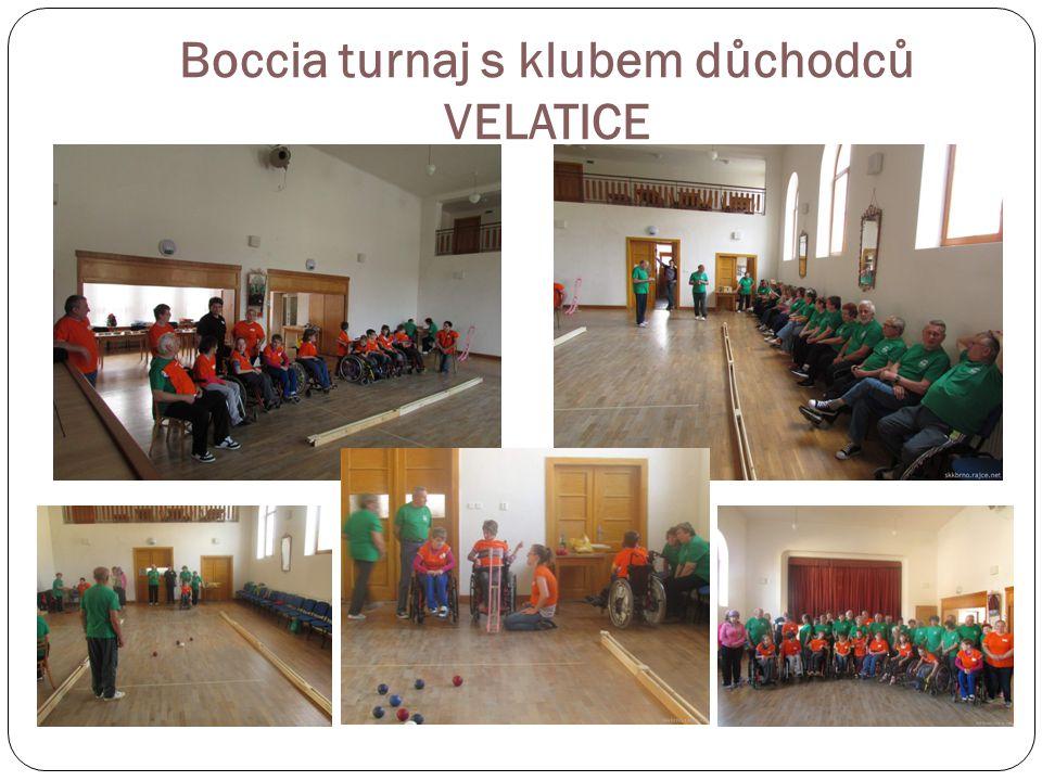 OZP CUP v boccia 1. kolo 2. a 3. ligy Krupka u Teplic