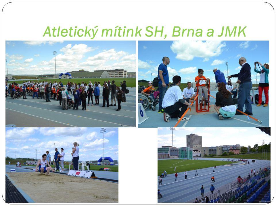Atletický oblastní přebor handicapované mládeže