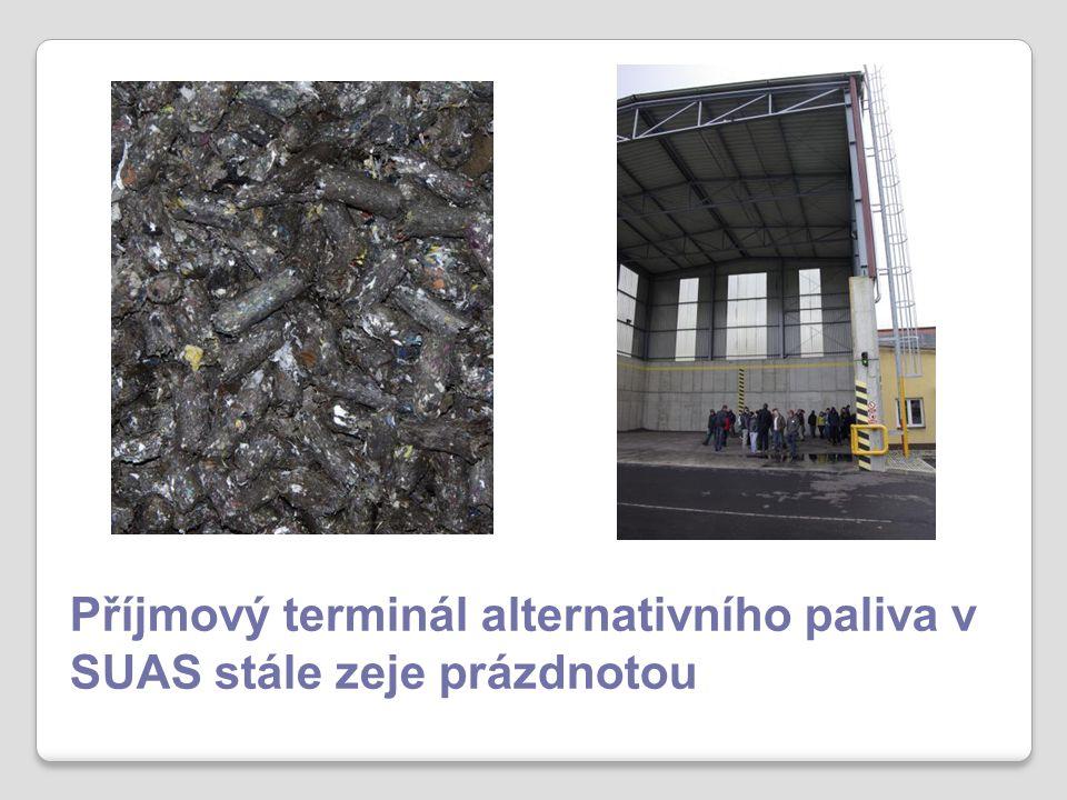 Příjmový terminál alternativního paliva v SUAS stále zeje prázdnotou
