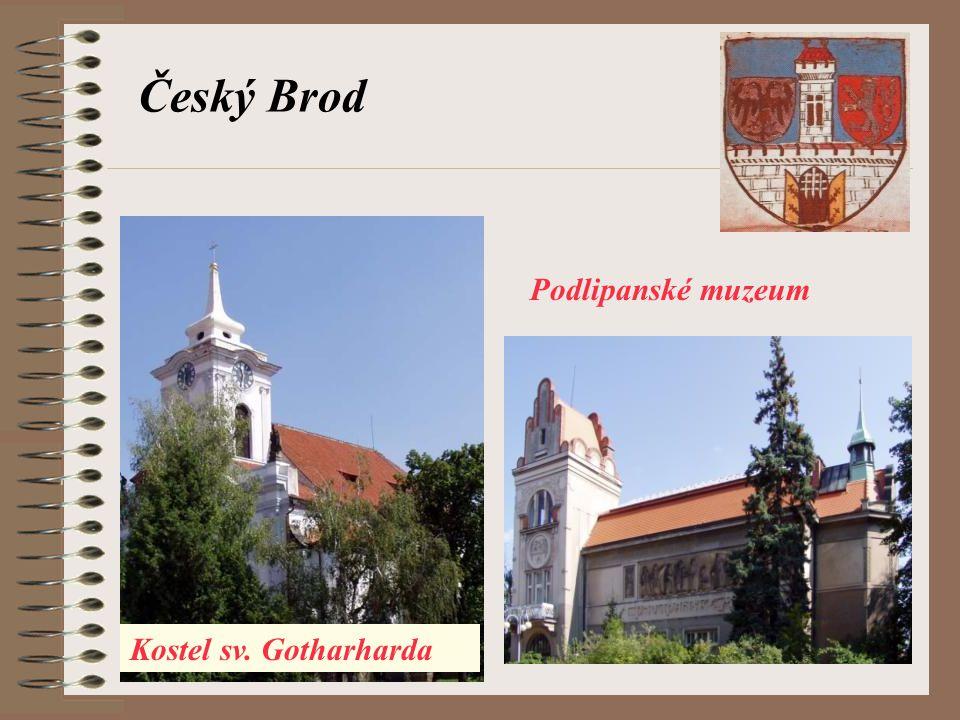 Podlipanské muzeum Český Brod Kostel sv. Gotharharda