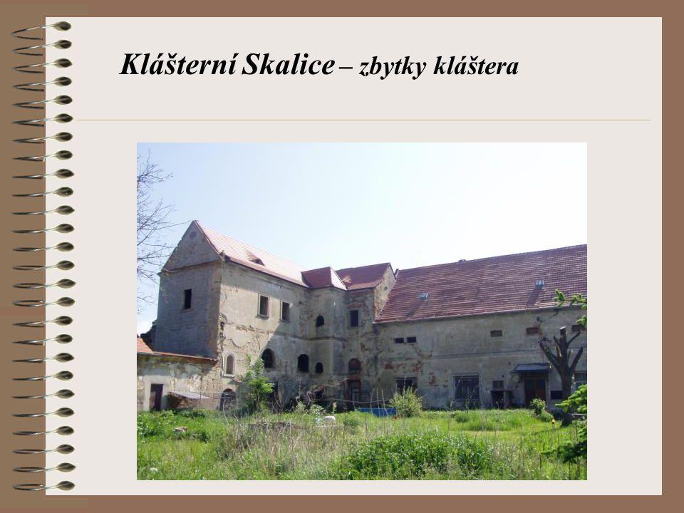Klášterní Skalice – zbytky kláštera