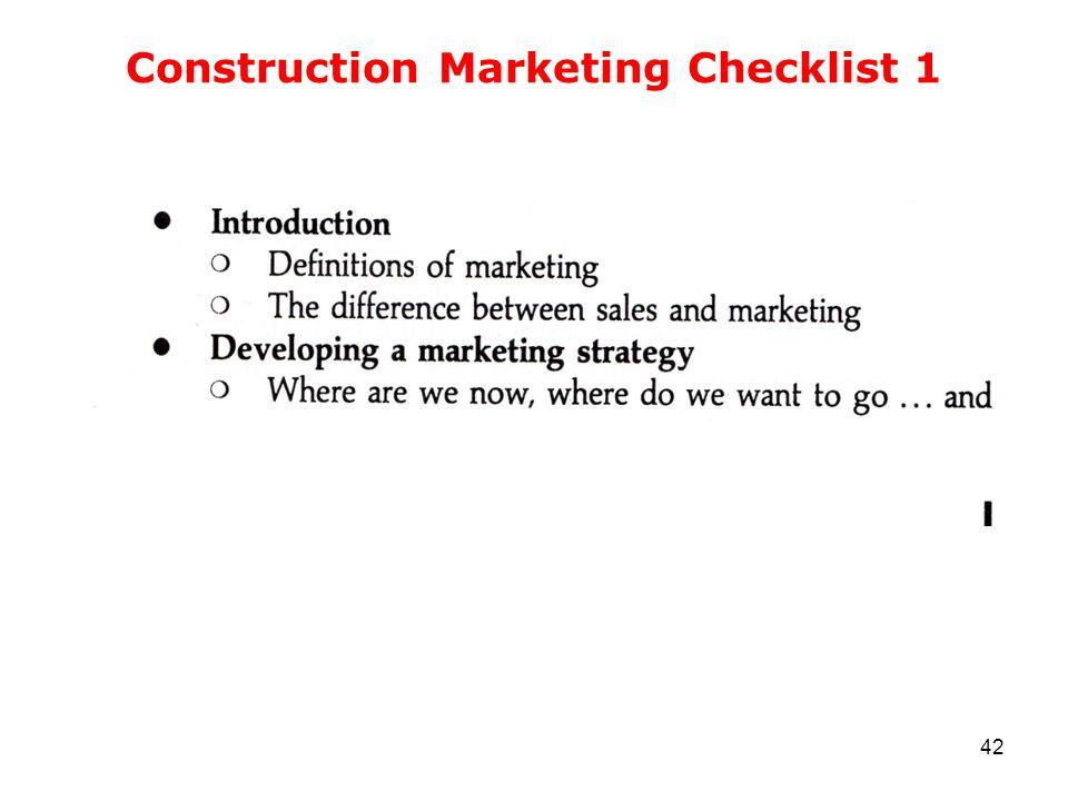 Construction Marketing Checklist 1 42