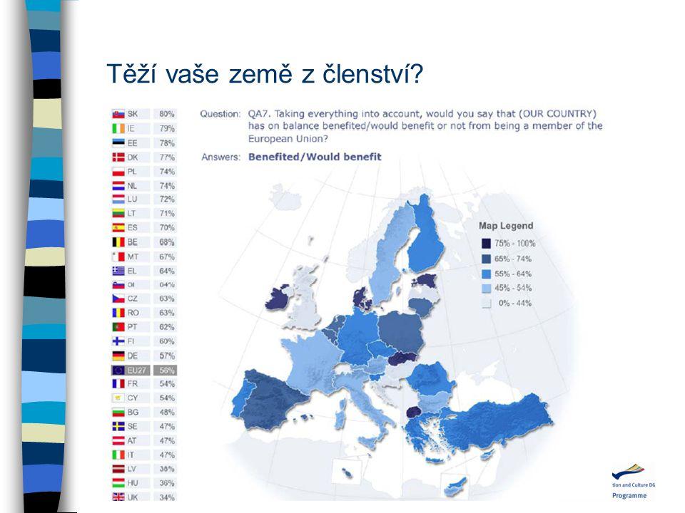 Těží vaše země z členství?