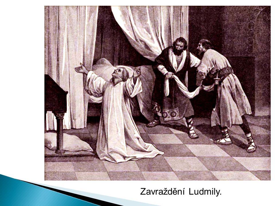 Zavraždění Ludmily.