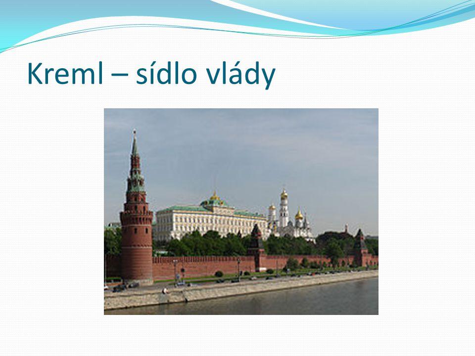 Kreml – sídlo vlády