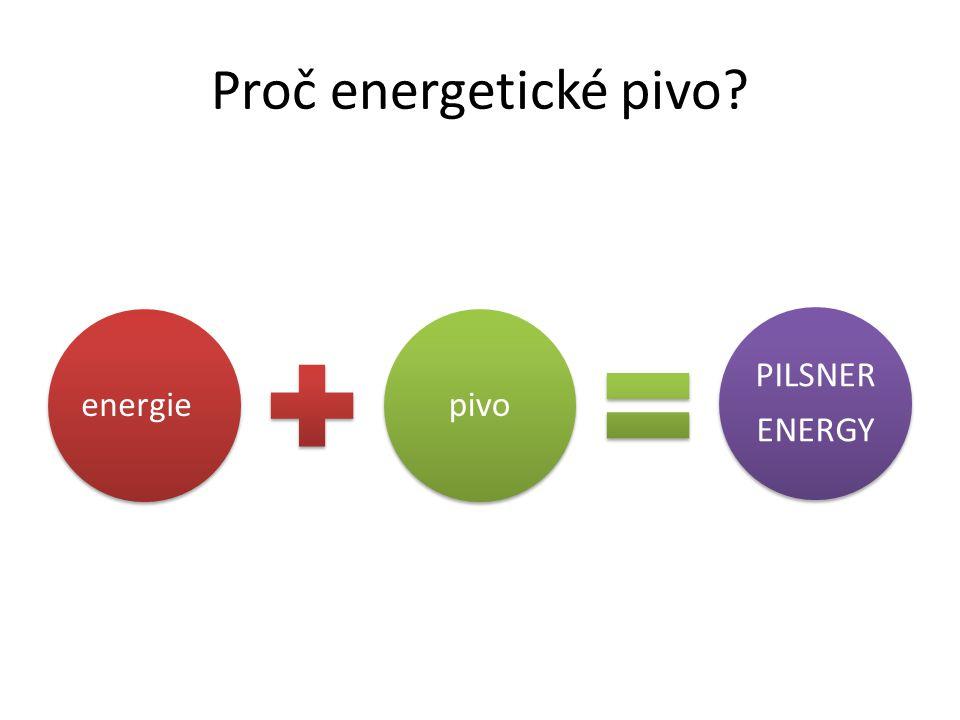 Proč energetické pivo? energiepivo PILSNER ENERGY