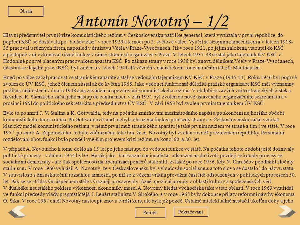 Antonín Zápotocký – 2/2 Zpět a rozmáhající se byrokracii.