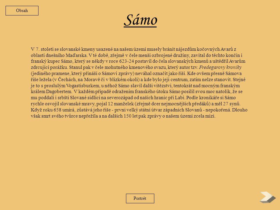 Obsah 1.Sámo(623-4 – 658-9) Sámo(623-4 – 658-9) 2.