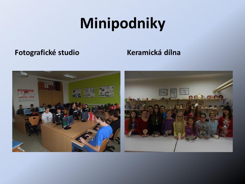 Minipodniky Fotografické studioKeramická dílna