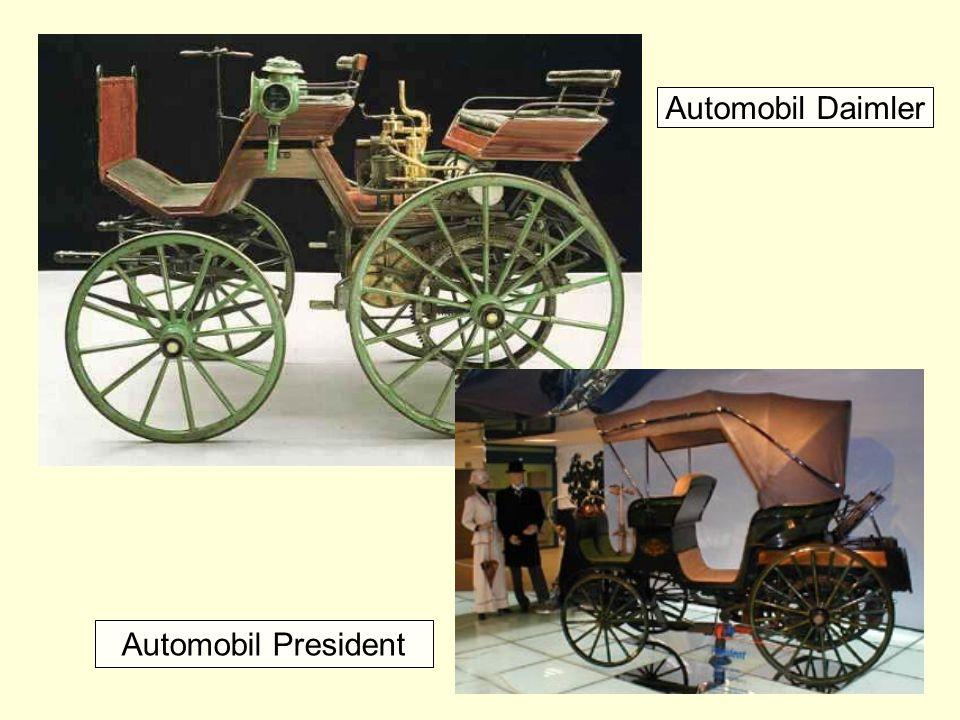 Automobil President Automobil Daimler