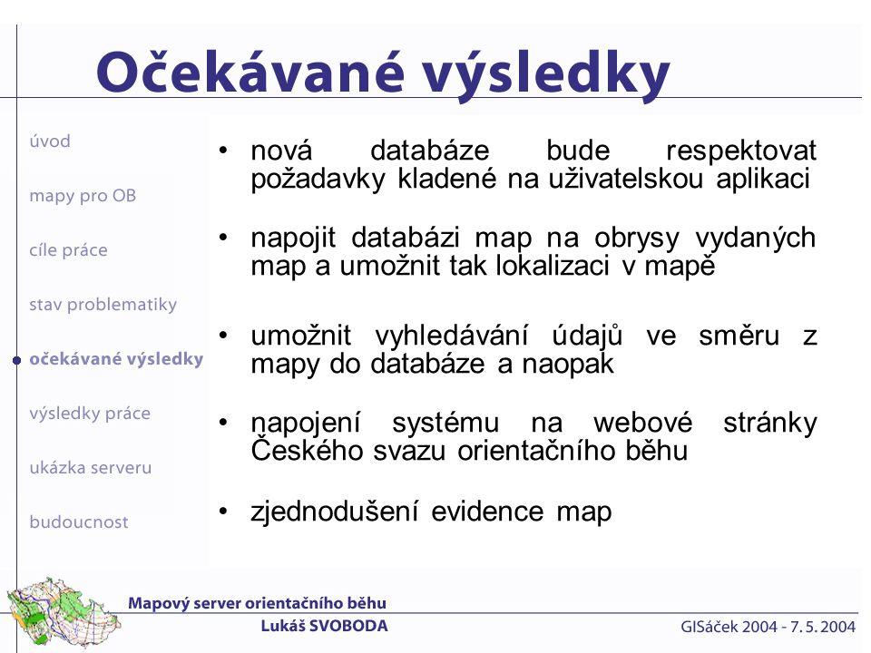 Popisná data PostgreSQL správa databáze phpPgAdmin správa dat T-WIST Prostorová data formát SHP správa dat ArcView prezentace dat T-MapServer