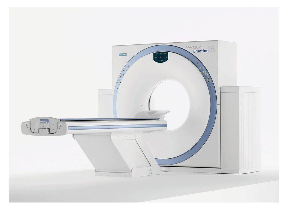  První pacient byl počítačovým tomografem vyšetřen 4.