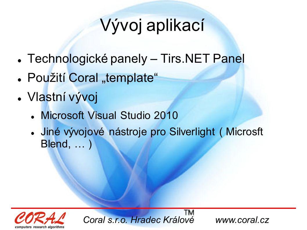 Coral s.r.o. Hradec Králové www.coral.cz www.coral.cz