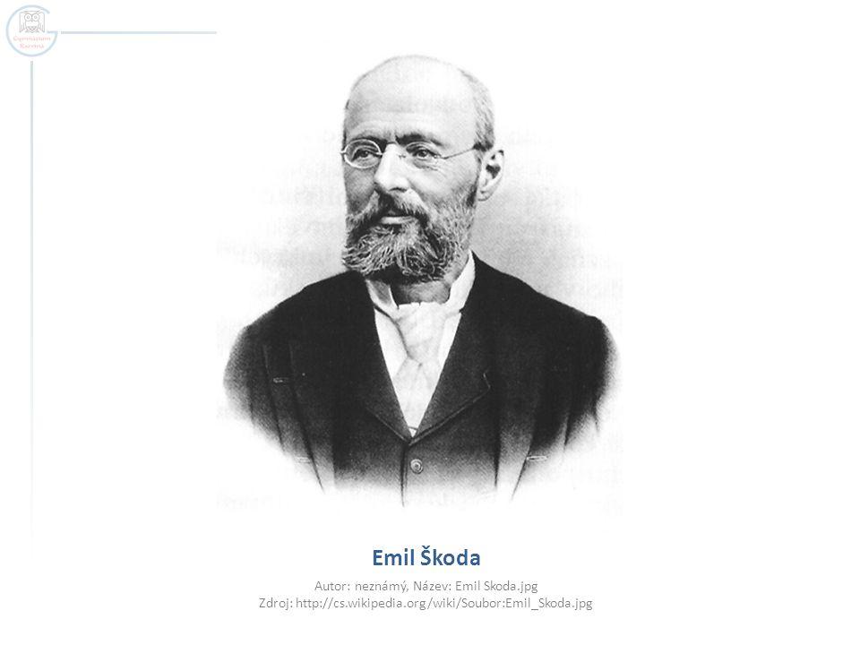  Emil Kolben – původně asistent T.A. Edisona zakladatel továrny Kolben a spol.