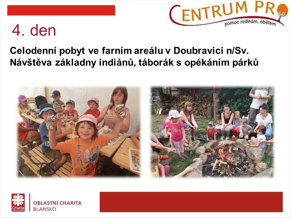 Celodenní pobyt ve farním areálu v Doubravici n/Sv.