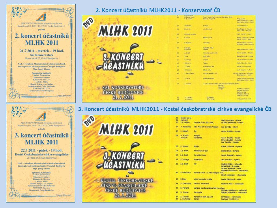 2.Koncert účastníků MLHK2011 - Konzervatoř ČB 3.
