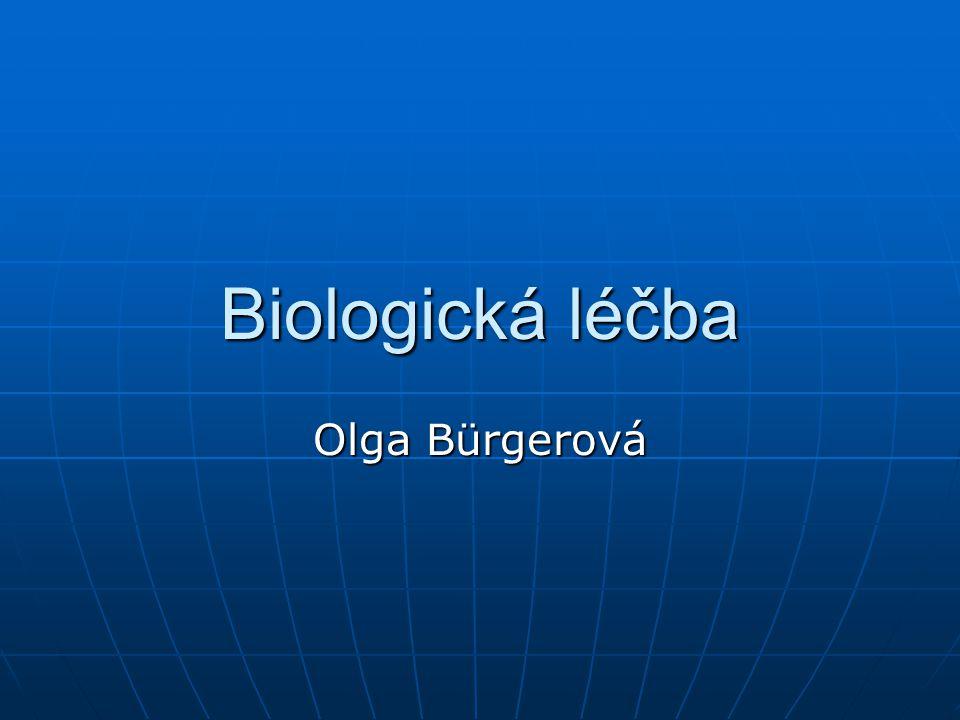 Biologická léčba Olga Bürgerová