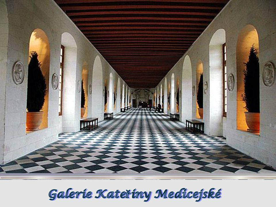 Chenonceau je známý nejen svou architekturou a historií, ale i bohatstvím sbírek, renesan č ním nábytkem, gobelíny a po č etnými obrazy sv ě tových mi