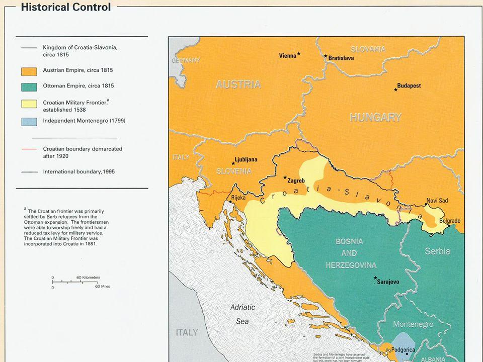 Politická a ideová východiska chorvatských národně- integračních ideologií 19. století5 Chorvatské země v 19. století