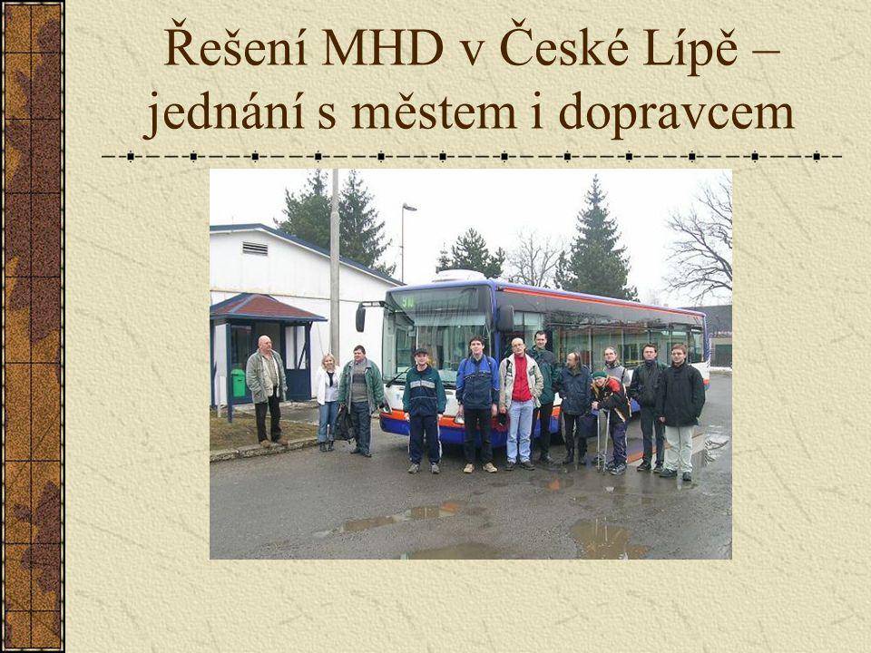 Řešení MHD v České Lípě – jednání s městem i dopravcem