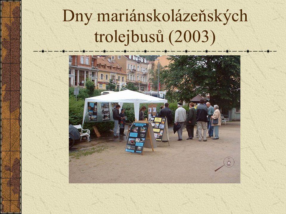 Dny mariánskolázeňských trolejbusů (2003)