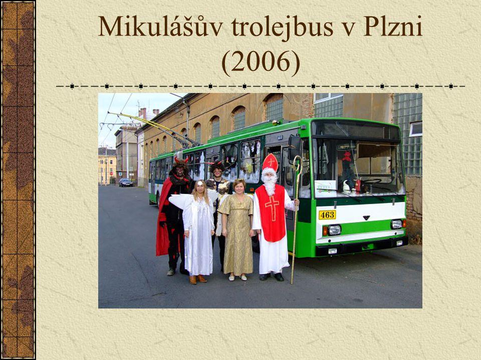 Mikulášův trolejbus v Plzni (2006)
