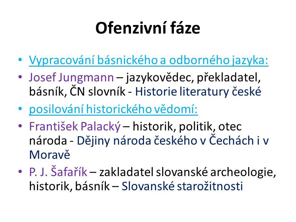 Formulování a propagování slovanské vzájemnosti v poezii: P.