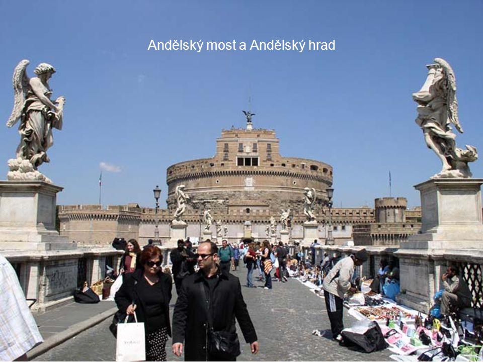 Andělský most a Andělský hrad